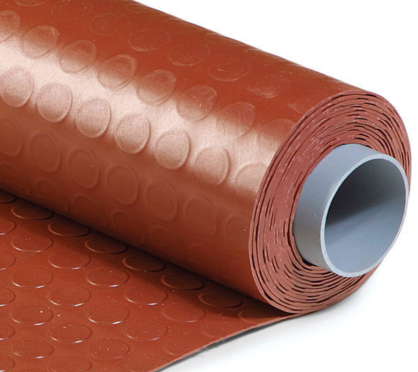 PVC Rolls Cover A Concrete Floor In No Time, Lending A Clean And Uniform  Covering. Although Durable, It Is Thinner And More Flexible Than The PVC  Tiles.