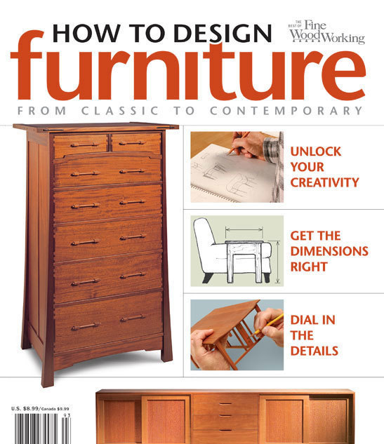 Designing Furniture how to design furniture - finewoodworking