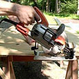 Worm-drive saw