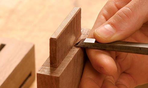 Perfect Mortise and Tenon Joints