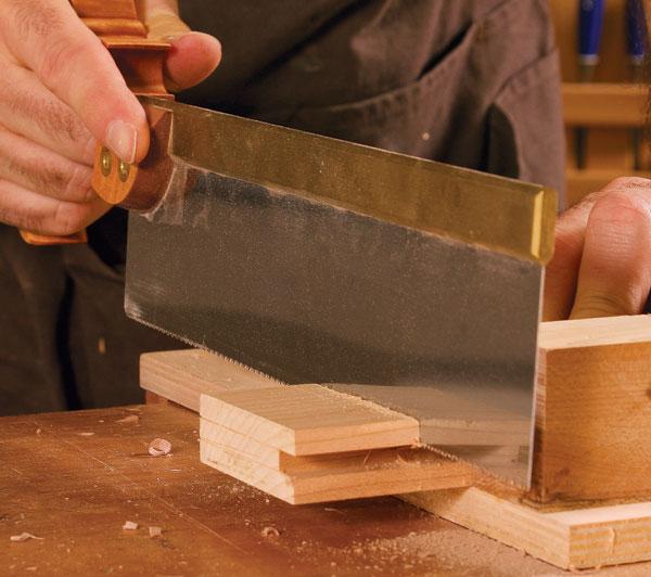 Hand-Cut Tenons