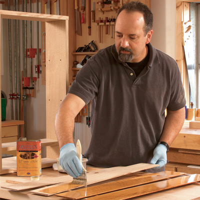 how to make wiping varnish