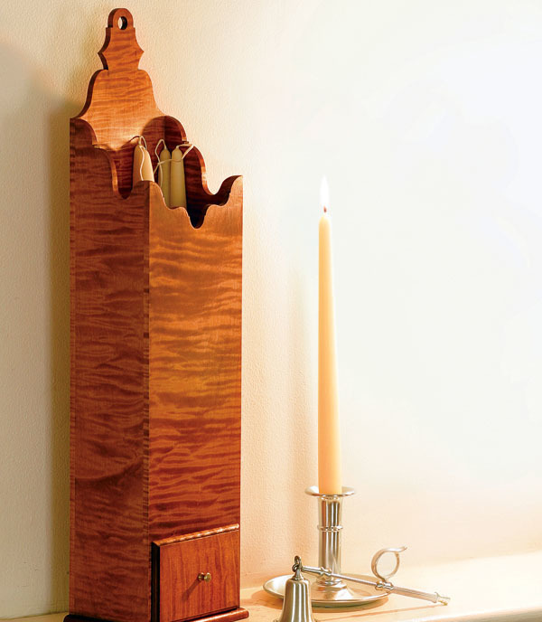 18th-Century Pipe Box Provides Elegant Storage - FineWoodworking