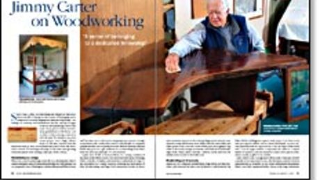 Jimmy Carter On Woodworking