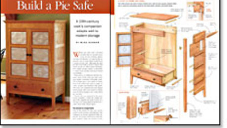 How To Build a Pie Safe - FineWoodworking