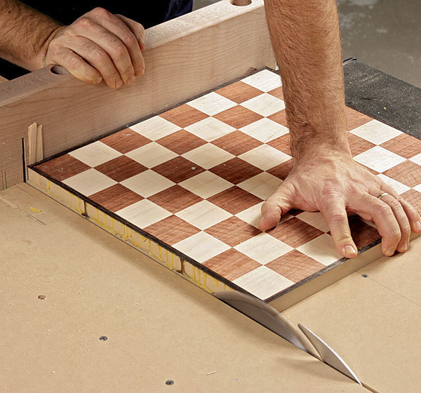 A Chessboard Made Easy Finewoodworking