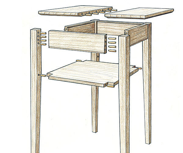 Excellent Simple Bridle Woodworking Joint