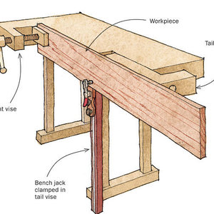 Holding Thin Stock For Planing Finewoodworking