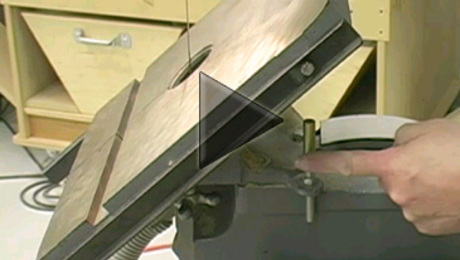 Perfect Bandsaw Table Alignment - FineWoodworking