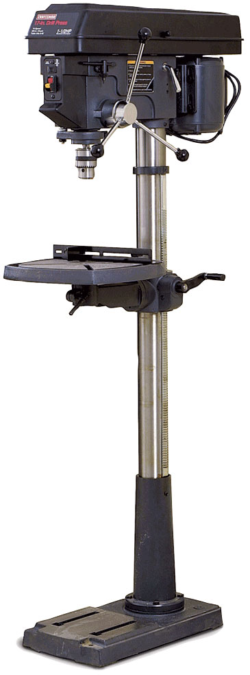 Floor Standing Drill Press Gorgeous Mobile Base For Floor Standing Drill Press The Garage ...
