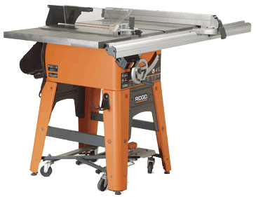 Contractor saw no ts3650 finewoodworking ridgids new contractors saw model no ts3650 is a true furniture makers tool on a par in all but horsepower with full size cabinet saws greentooth Choice Image