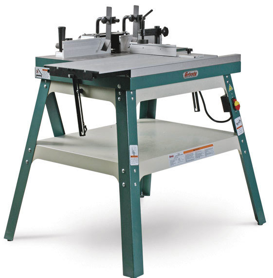 the author evaluated 13 router tables for the sturdiness of their tables and fences for dust collection and for ease of operation and setup