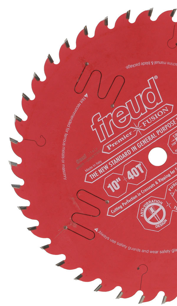 freud blades. in a recent shop test, i found freud\u0027s new premier fusion 10-in. tablesaw blade to be smooth cutter that performed as well or better than the forrest freud blades