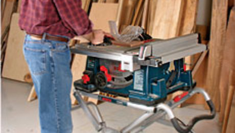 Bosch - 4100DG-09 Portable Tablesaw Review - FineWoodworking