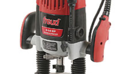 Freud- Heavy-Duty Plunge Router FT3000VCE - FineWoodworking