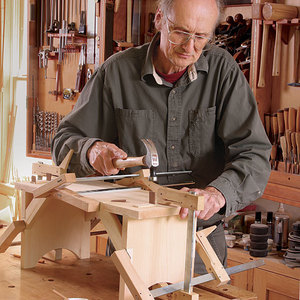 Build A Simple Stool Finewoodworking