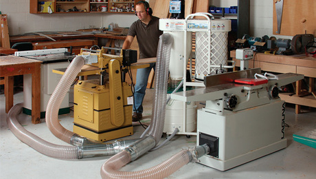 All About Dust Collection Finewoodworking