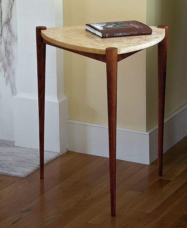 Triangle Side Table - FineWoodworking