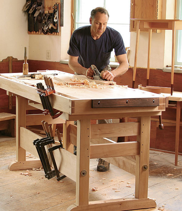 The workbench is the heart of your workshop, so it's important that ...