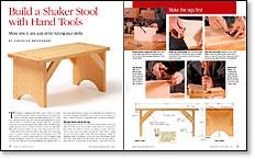 Build a Shaker stool