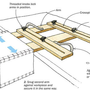 leigh isoloc hybrid dovetail templates - 7 workbench tips and tricks finewoodworking