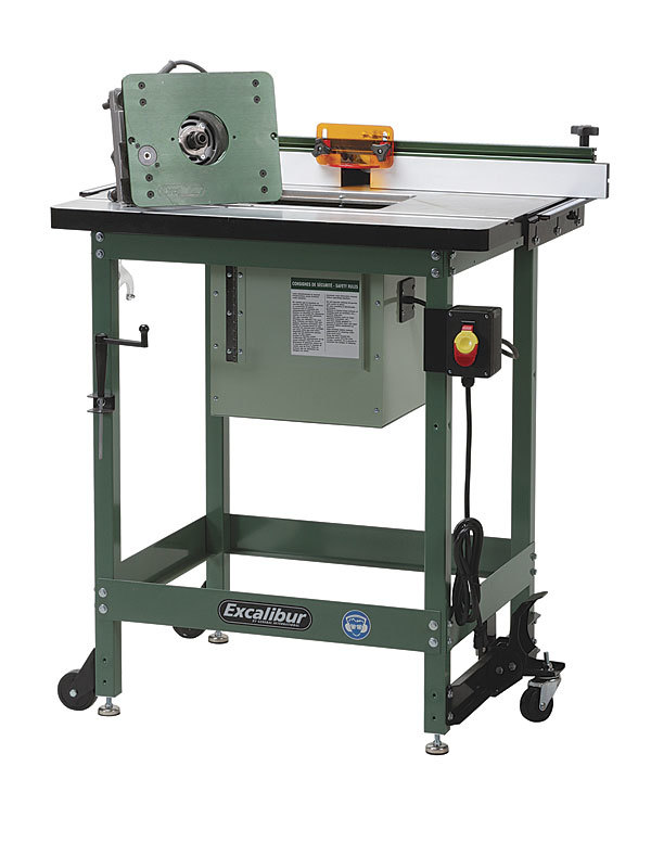 General Excalibur 40-200C Router Table Paired with the ...