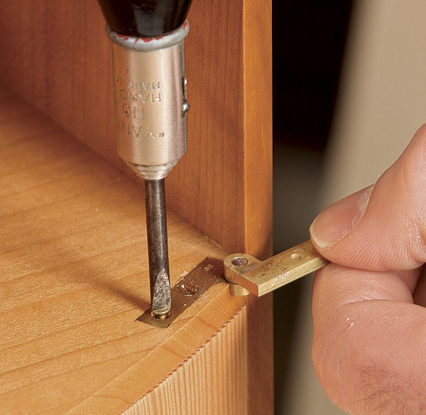 How to Install Knife Hinges in Curved Work - FineWoodworking