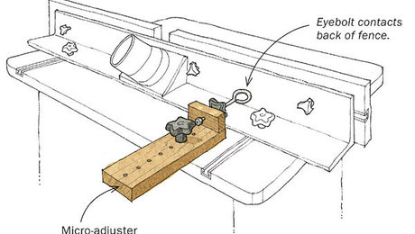Router fluting jig plans