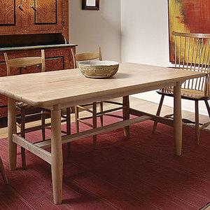 A modern bench finewoodworking - Scandinavian kitchen table ...