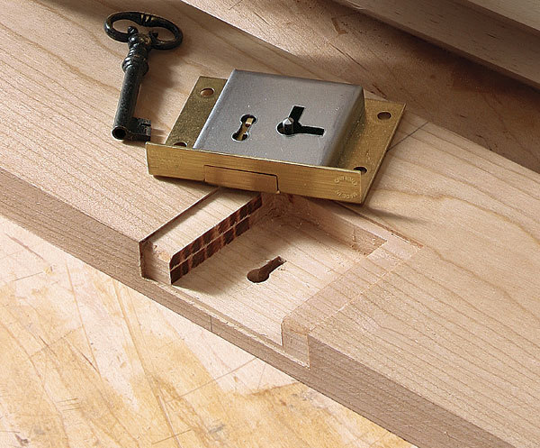 Lock Mortises Made Easy - FineWoodworking