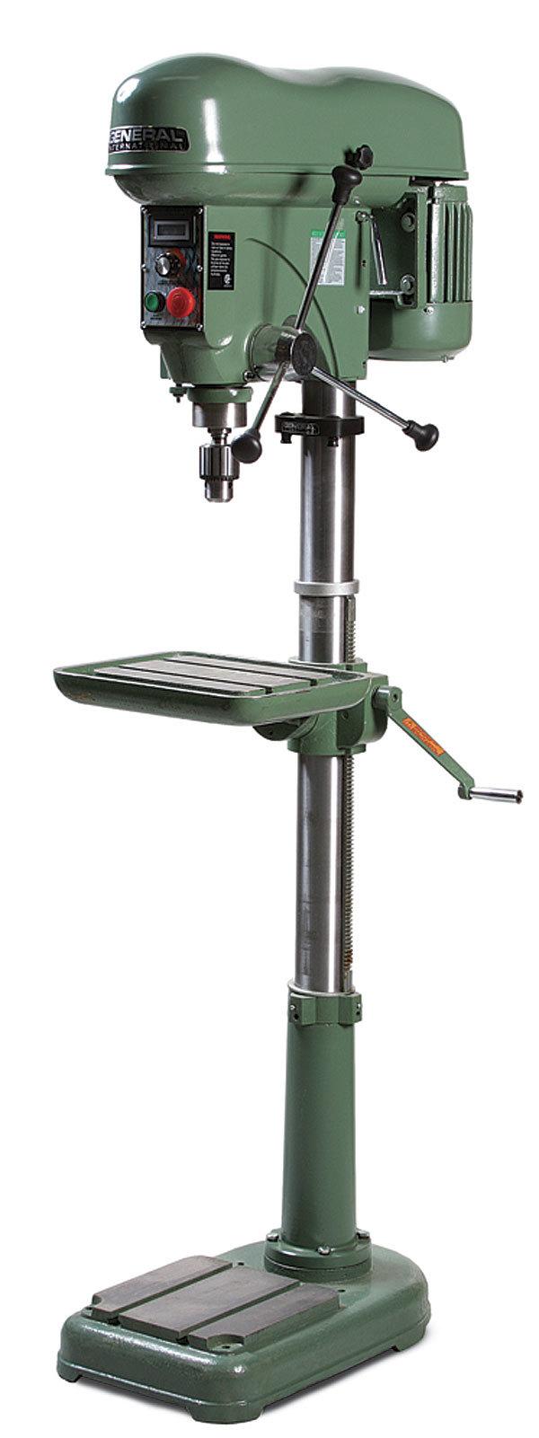 General International 75-700 M1 VS Drill Press ...