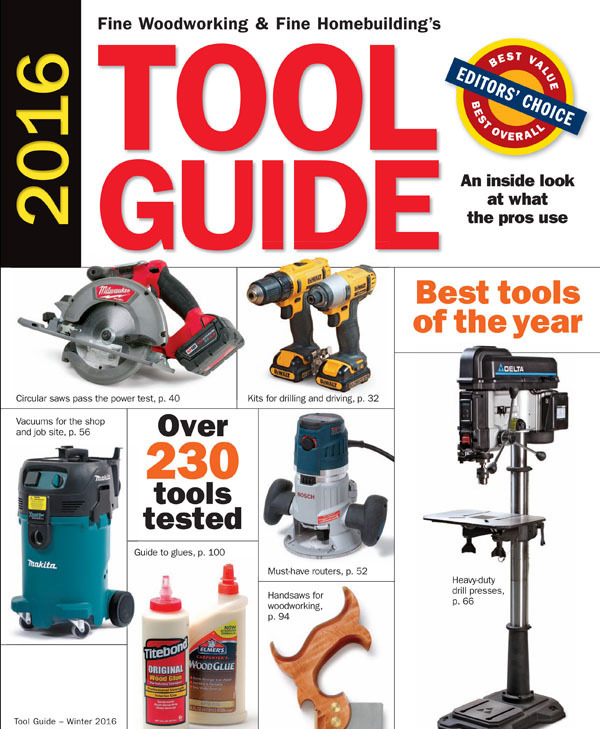 Online Extras for the 2016 Tool Guide - FineWoodworking