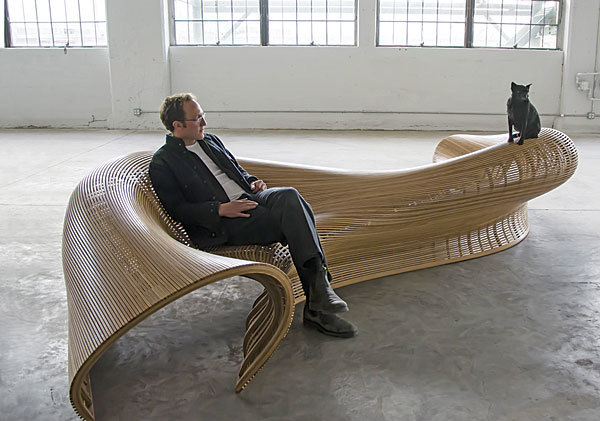 Sinuous Seating Finewoodworking