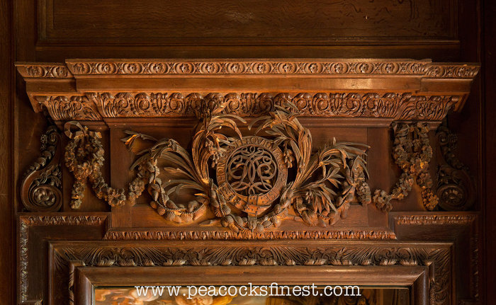 Attributed to Samuel Watson  1662 1751   who worked in Gibbons s style at  Chatsworth between 1691 and 1711  For more photos  see our antique furniture  blog. Wood carving and antique furniture at Chatsworth House