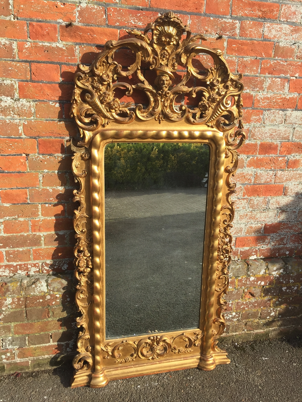 Large overmantle mirrors uk antique overmantle mirrors Large wooden mirrors for sale
