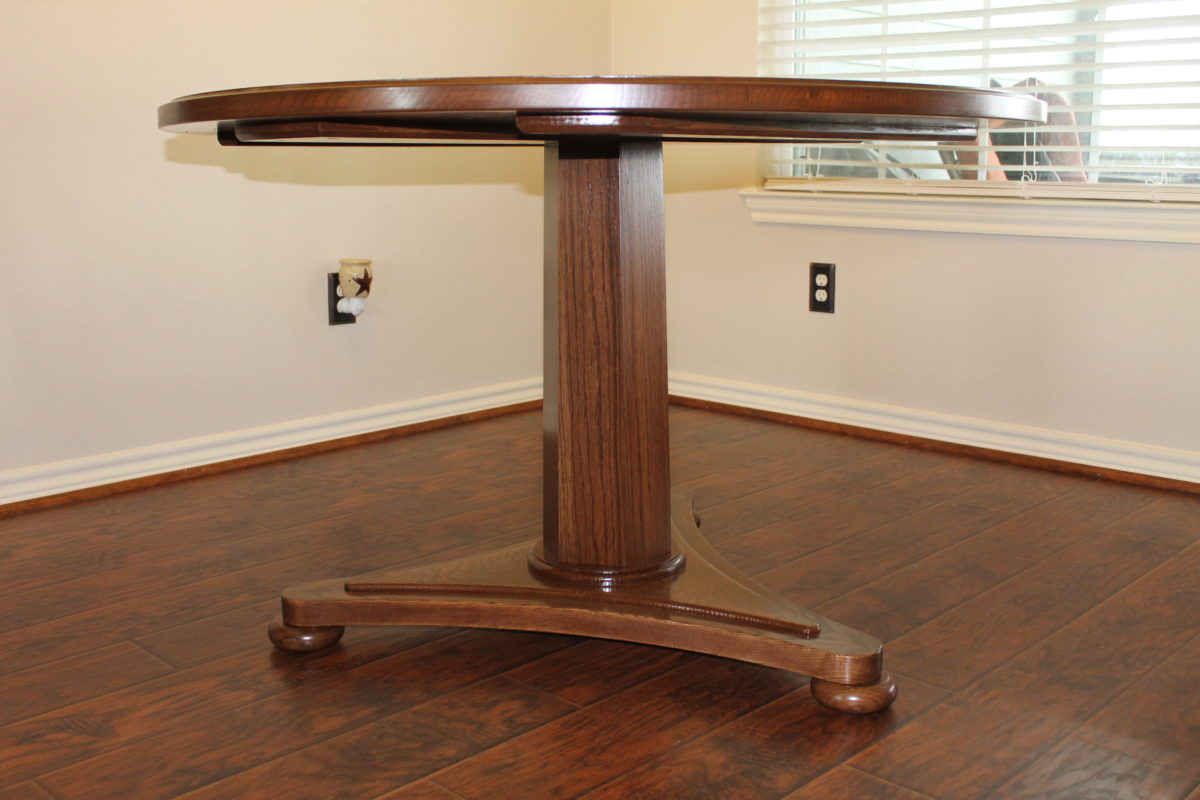 Pedestal table design from french regency from march for Email table design
