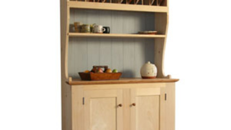 Country Pine Hutch - FineWoodworking
