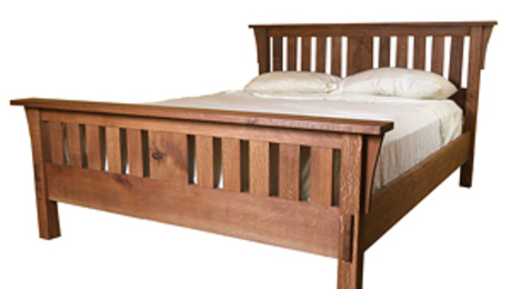 Build A Mission Style Bed Finewoodworking