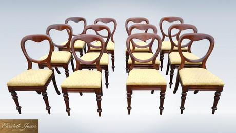 Set-Twelve-Classic-Victorian-Mahogany-antique-dining-Chairs-0-P1