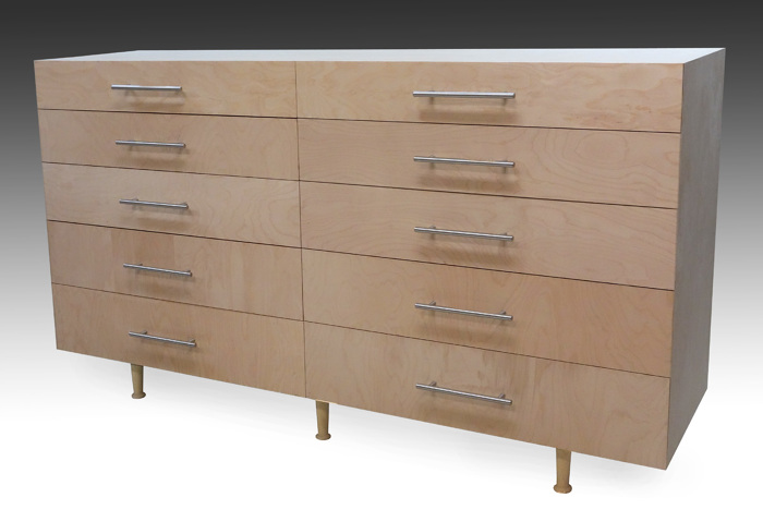 Modern 10-drawer dresser - FineWoodworking