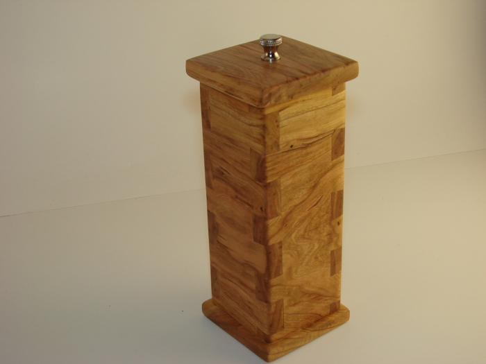 Dovetailed Pepper Mill - FineWoodworking
