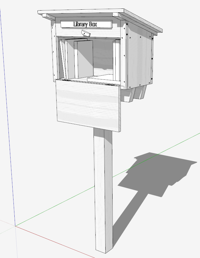 A Design Process for a Street Library Box - FineWoodworking