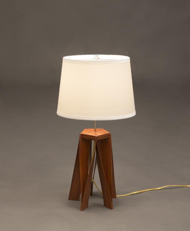 Wishbone Table Lamp - FineWoodworking