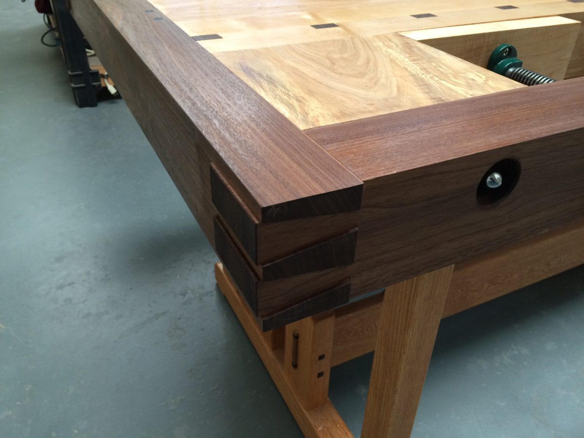 Greene & Greene Inspired Workbench - FineWoodworking