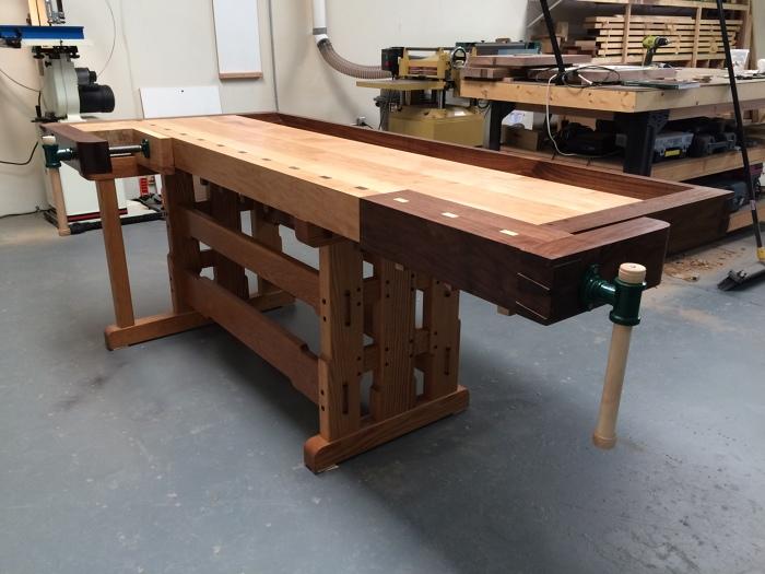 Greene & Greene Inspired Workbench - FineWoodworking