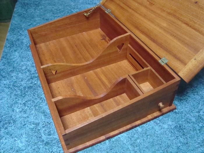 wood lap table mahogany shaker lap desk finewoodworking