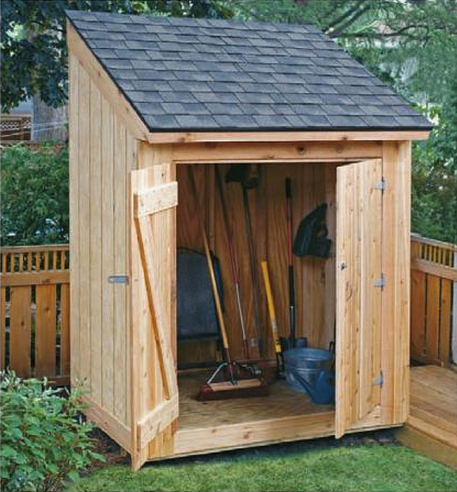 Free Shed Plans | 8×12 shed, 8×10 shed, lean-to tool shed & firewood ...
