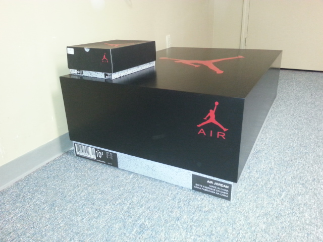jordan shoe box cabinet for sale