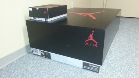 Shoe box cabinet