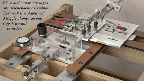 Pat Warner's new router table is designed to produce precise parts, in wood, metal, and plastic, for an army of new jigs.
